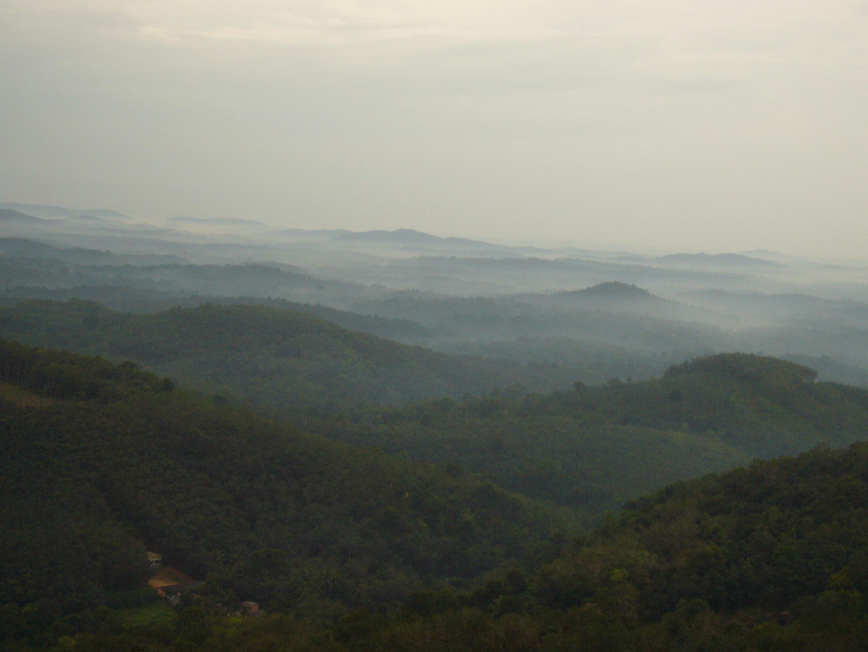 Am Rande der Western Ghats