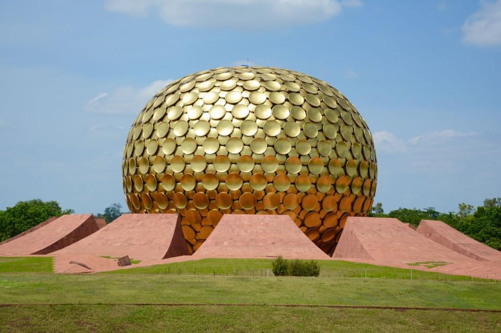 Auroville_MatriMandir