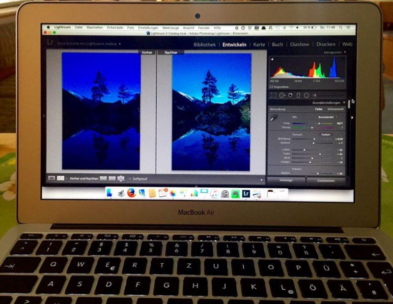 Landschaftsfotografie-Lightroom