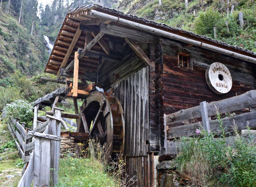 Osttirol Hohe Tauern Defereggen Mühle