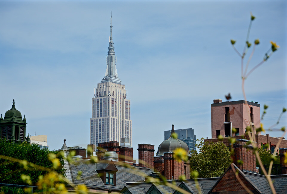 Fotoparde New York Empire State Building