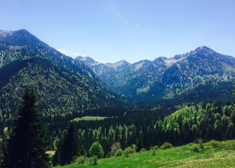 Outdoor Berge Tegernsee Aueralm