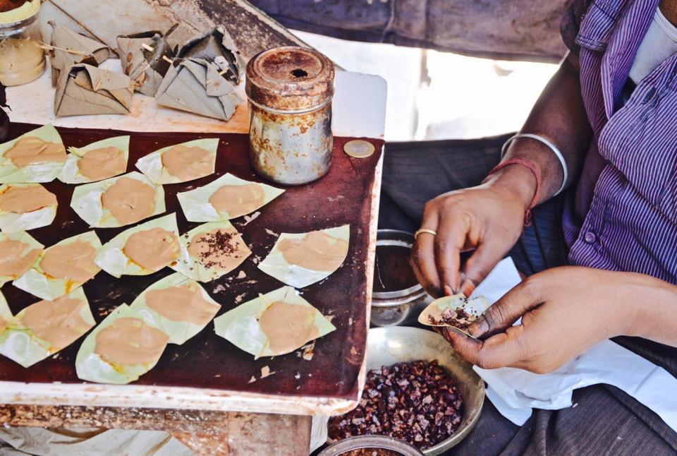 Reisen 2016 Indien Old Delhi Paan