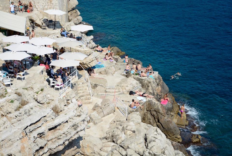 Reisen 2016 Dubrovnik Old City Buza Bar