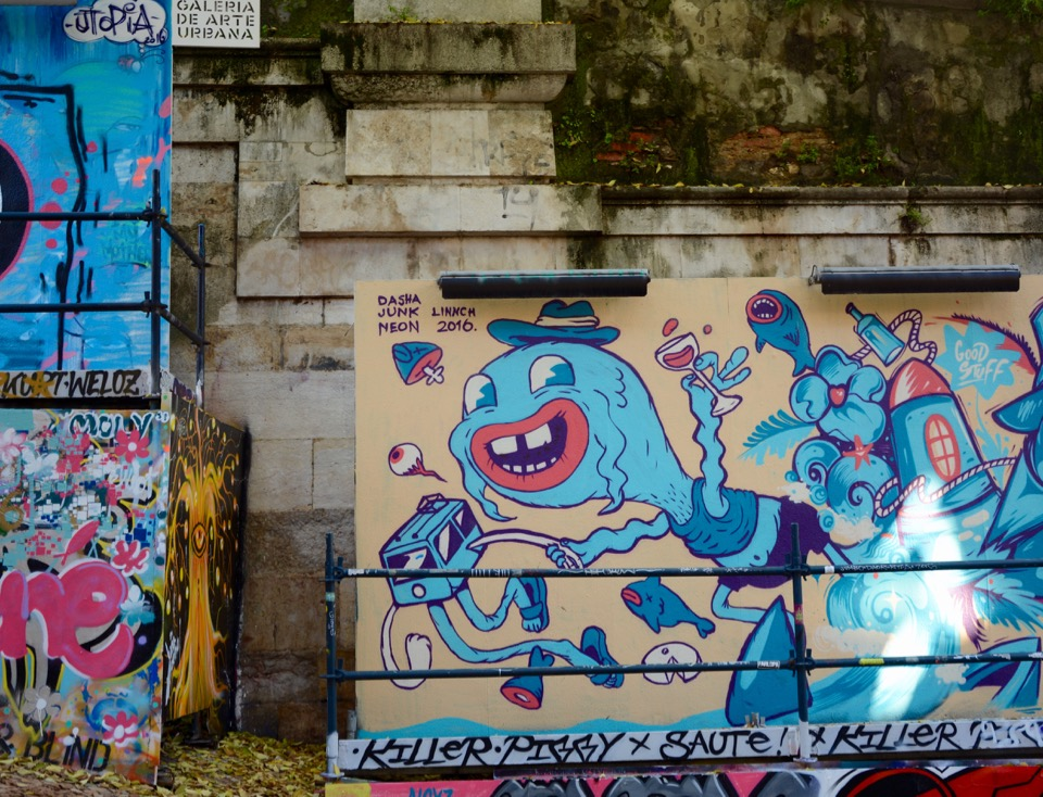 Reisen 2016 Lissabon Galeria de Arte Urbana