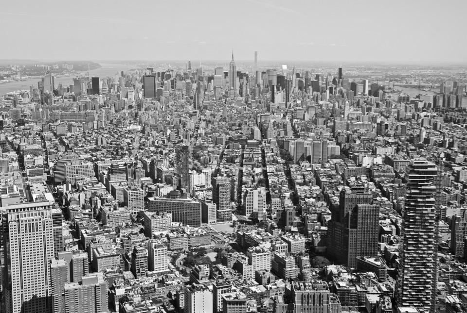 Rückblick Reisen 2016 New York Skyline