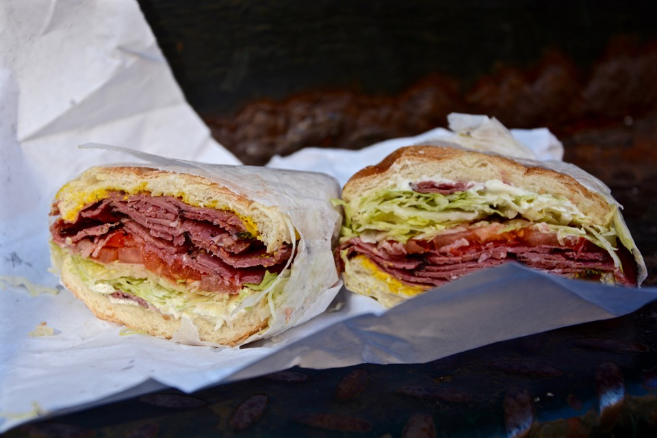 Rückblick Reisen 2016 New York SoHo Pastrami Sandwich