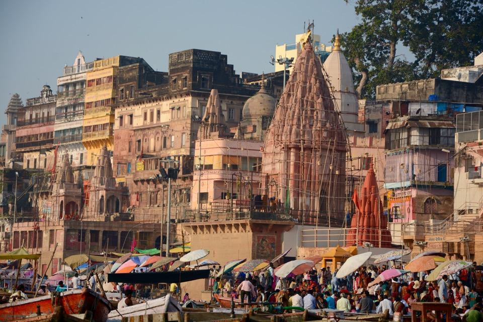 Rückblick Reisen 2016 Varanasi Indien