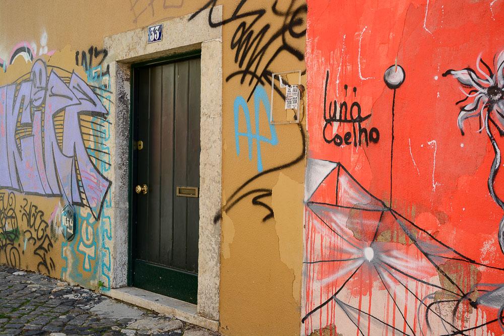 Portugal Lissabon Städtetrip Reiseblog Traveling the World Street Art