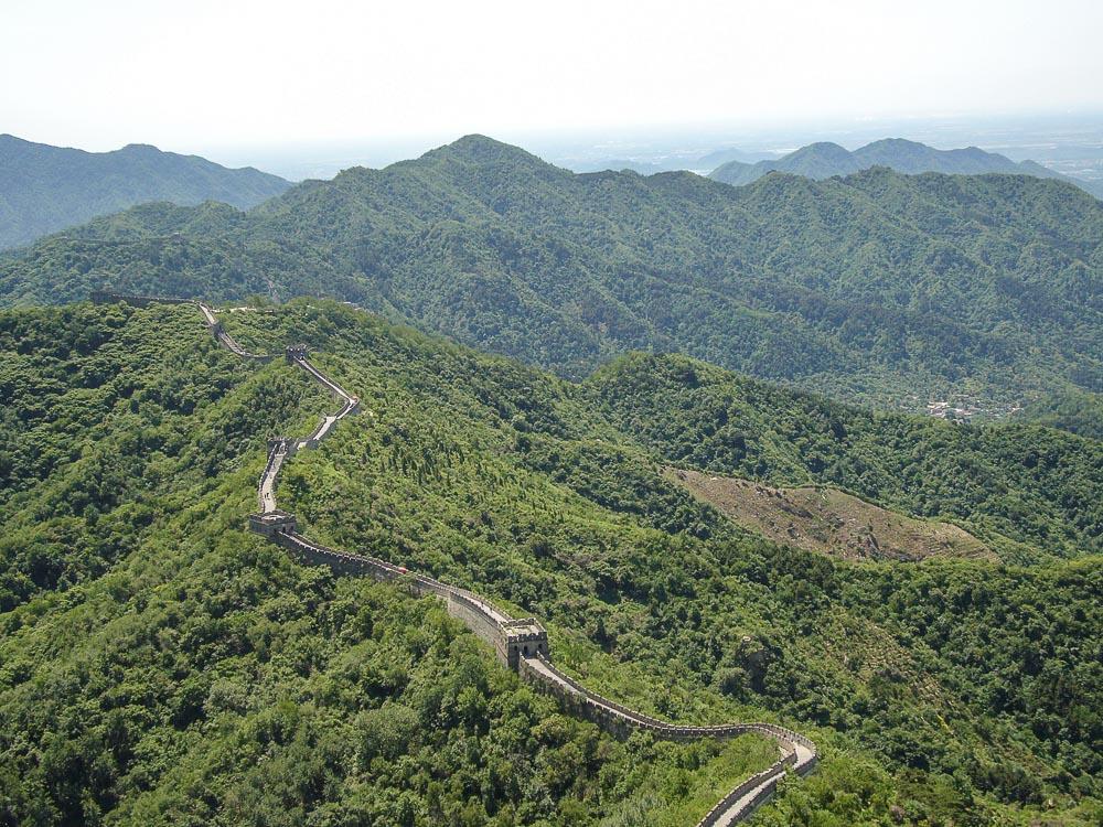 China Chinesische MauerMutianyu