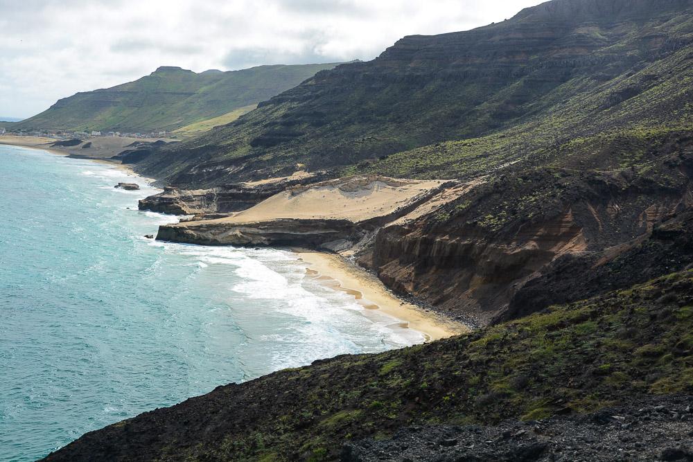 Kapverden Sao Vicente Küste Salamansa Wanderung