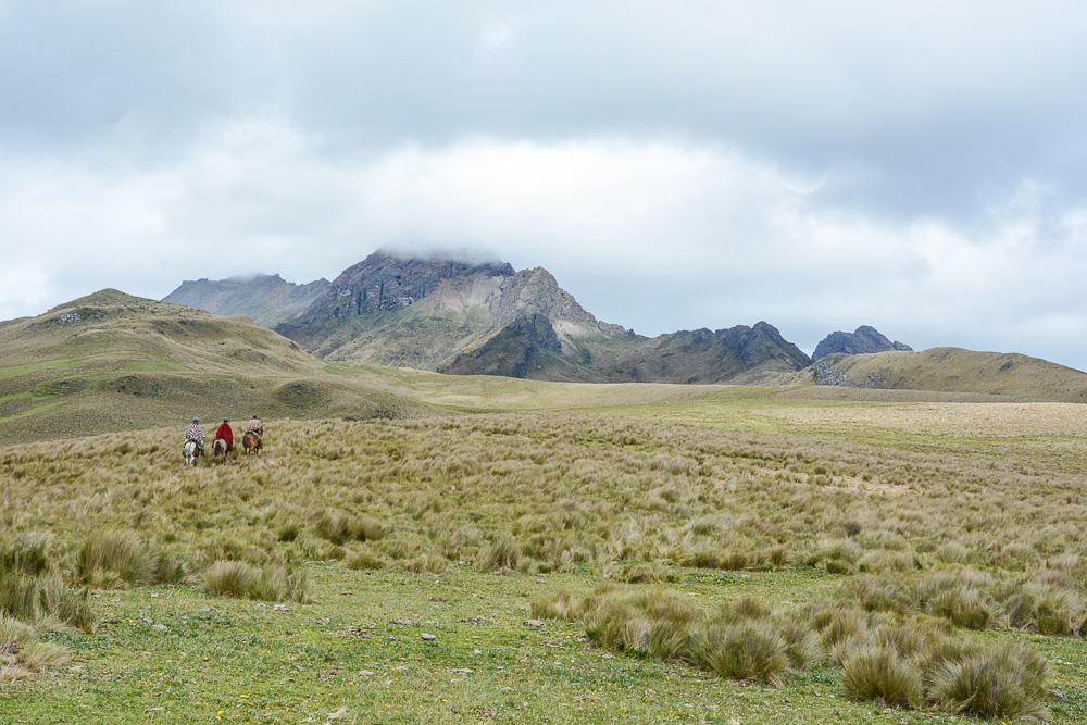 Traveling the World Ecuador Anden Cotopaxi Nationalpark Hacienda El Porvenir