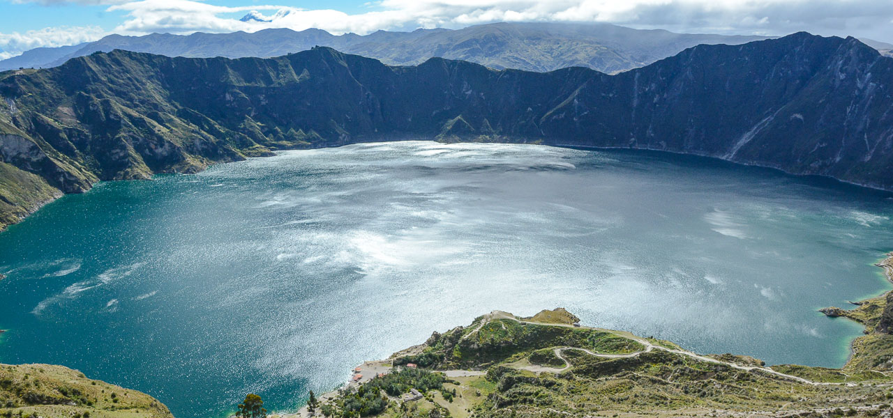 Traveling the World Ecuador Anden Wandern Quilotoa