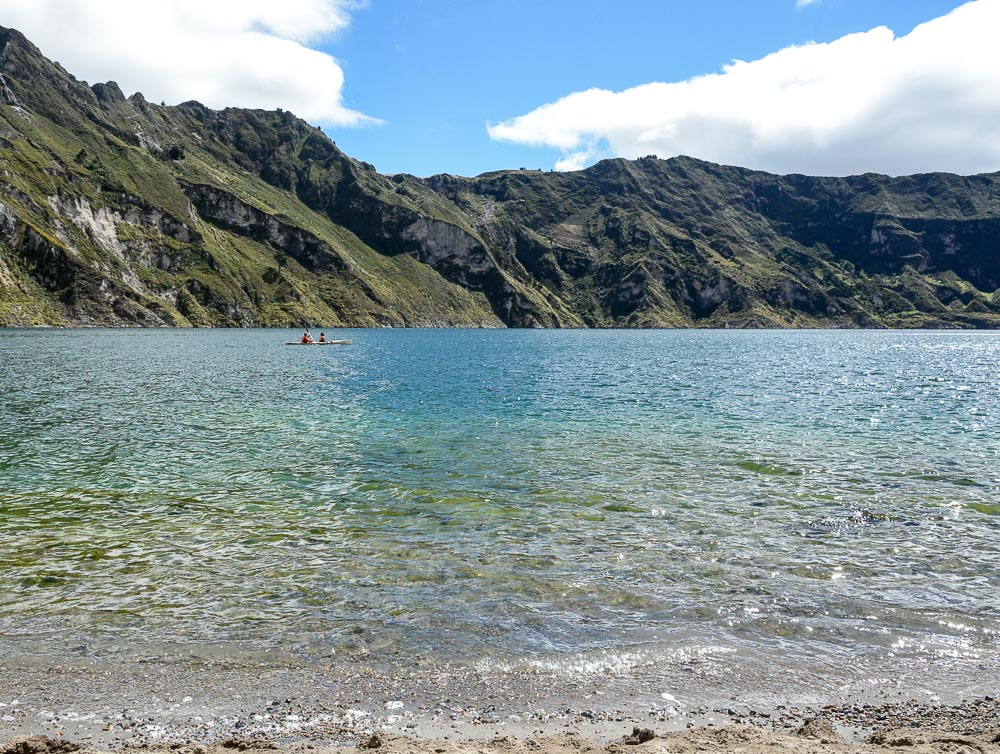 Traveling the World Ecuador Wandern Quilotoa Loop Anden Kajak
