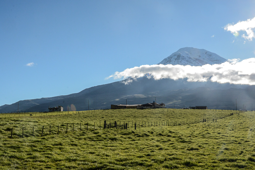 Traveling the World Ecuador Wandern Quilotoa Anden Chimborazo