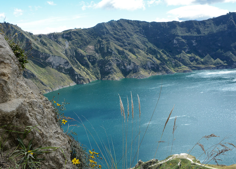Traveling the World Ecuador Wandern Quilotoa Anden