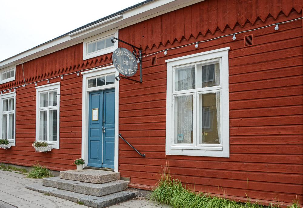 Traveling the World Tallink Silja Aland Islands Mariehamn Bagarstugan Café & Vin