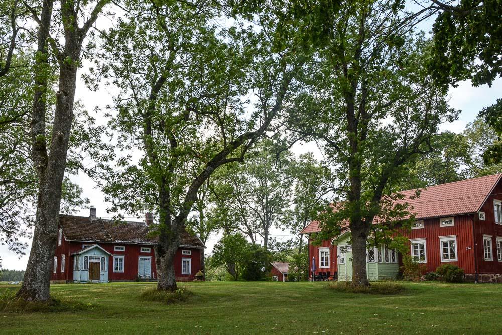 Traveling the World Tallink Silja Aland Islands Archipelago Wooden Houses