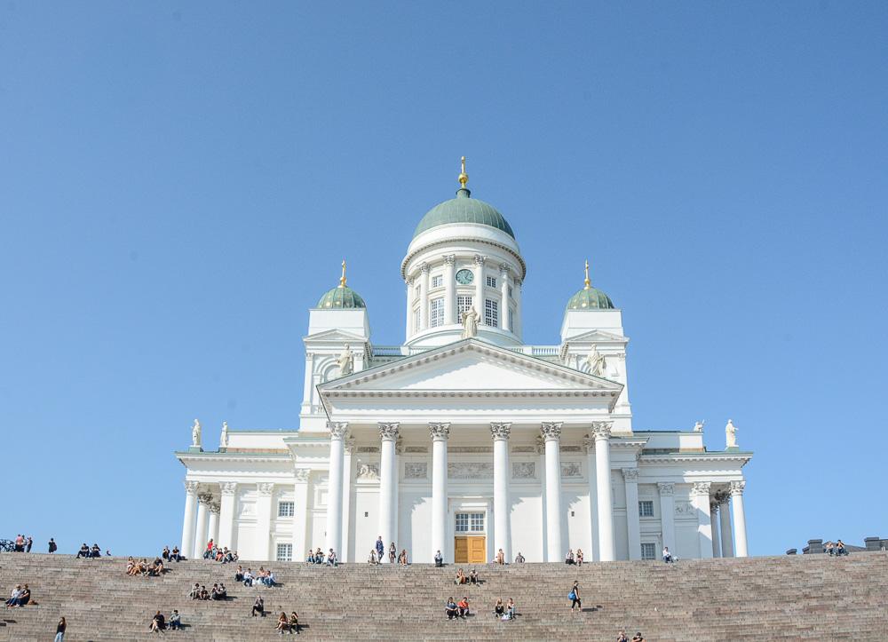 Traveling the World Tallink Silja Helsinki Dom Senatsplatz