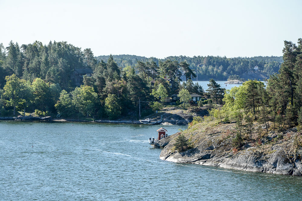 Traveling the World Tallink Silja Stockholm Archipelago