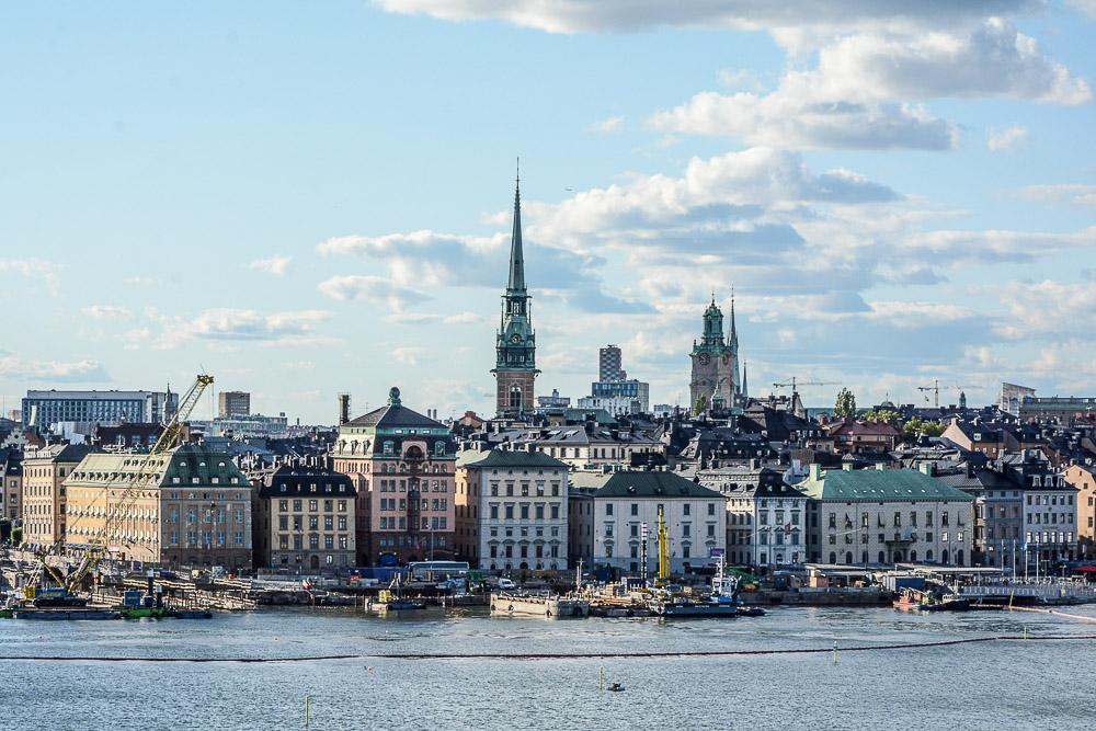 Traveling the World Tallink Silja Stockholm Södermalm Viewpoint Monteliusvägen