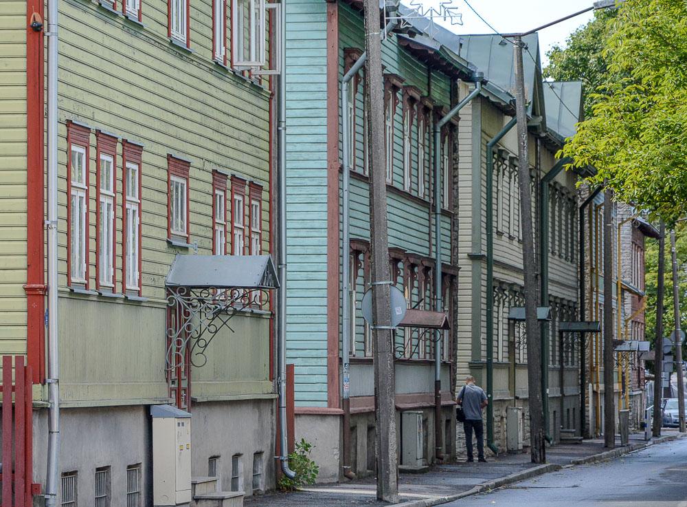Traveling the World Tallink Silja Tallinn Kalamaja Wooden Houses