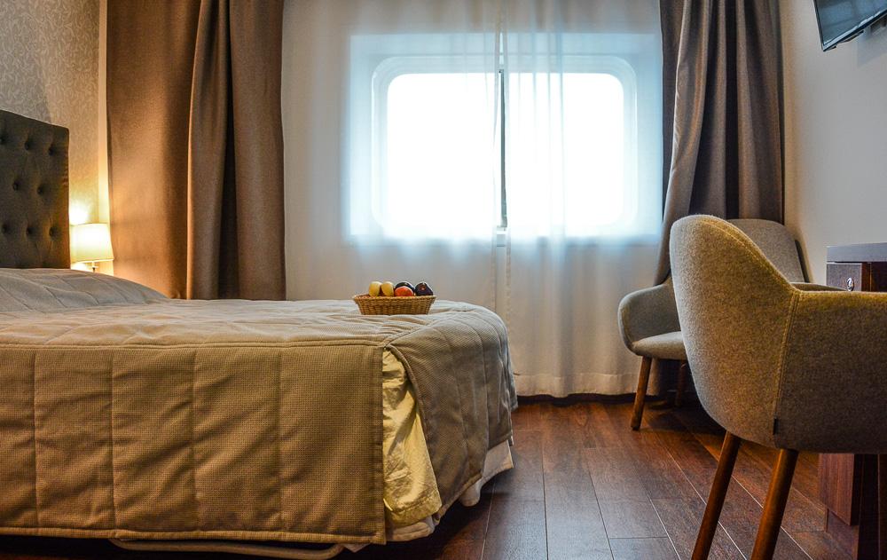 Traveling the World Tallink Silja Victoria I Deluxe Kabine