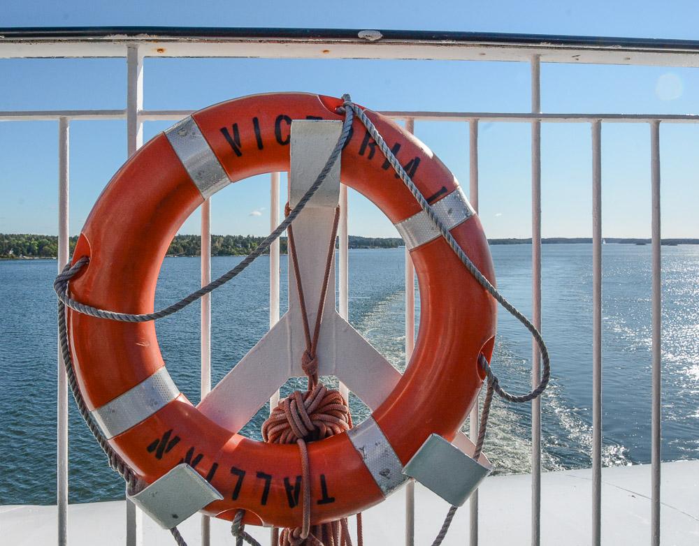 Traveling the World Tallink Silja Victoria I Stockholm Archipelago