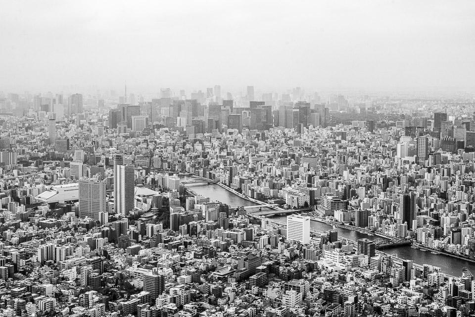 Traveling the World Fotoparade Schönste Reisefotos 2018 Tokio Ausblick Tokio Sky Tree